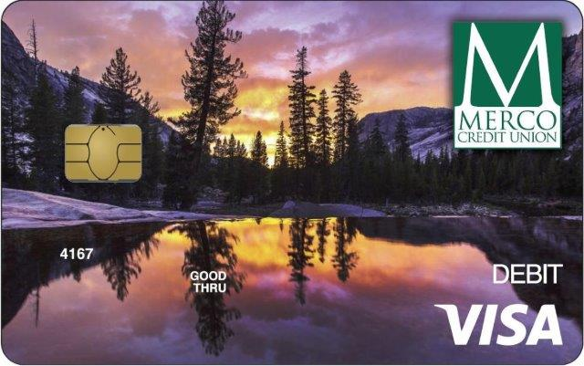 MERCO Visa Debit Card